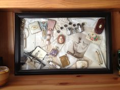 Vintage shadow box 3
