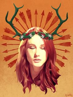 """""""She was brave, and she was strong, and she was a Summer. And she deserves her pyre and her songs. """" Carmilla Fan art Danny Lawrence"""
