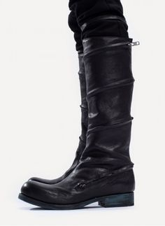 Obscur Spiral Zip Boot