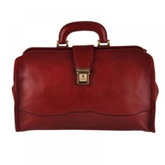 Pellevera professional doctor leather bag Made in Italy