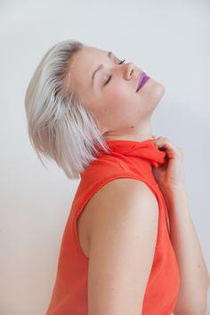 Ashley Bray /  Photos : Sarah Emily St-Gelais Chokers, Board, Photos, Tops, Women, Fashion, Moda, Pictures, Fashion Styles
