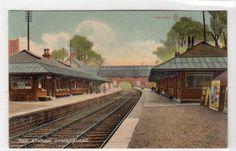 THE RAILWAY STATION, CAMBUSLANG: Lanarkshire postcard (C14462) Royal Charter, 14th Century, Glasgow, Old Photos, Ephemera, Scotland, City, Painting, Old Pictures