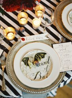Tonight's party doesn't have to be garish; host a chic Halloween fête
