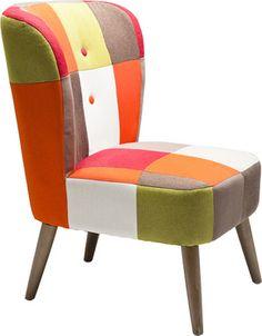 Fotel Mixed Fields KARE DESIGN NOWOCZESNE MEBLE KARE DESIGN KRAKÓW - Nowoczesne meble, oświetlenie, dodatki designerskie - Kare Design Kraków