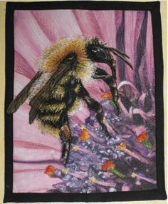 thread painting is a technique that can help you achieve realistic effects on art quilts and