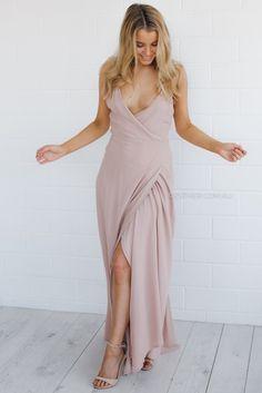 helen maxi dress - blush