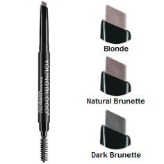 Looking for a quick and easy way to shape and fill in your eyebrows? @Youngblood Mineral Cosmetics just launched Brow Artiste Sculpting Pencils with a super fine tip on one side for filling in sparse areas and a brush on the other to form the perfect brow! Everything you need all in one!