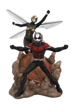 Diamond Select Toys' Upcoming Marvel Releases Include Shuri, Squirrel Girl, Thor, Iron Man, and Venom Marvel Characters, Marvel Movies, Comic Movies, Black Panther Statue, Wasp Movie, Marvel News, Antman And The Wasp, Squirrel Girl, Male Figure