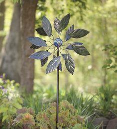#Solar Leaf Metal #Wind #Spinner