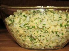 Apetycznie wyglądająca miska sałatki Appetizer Salads, Appetizers, Grill Party, Polish Recipes, Polish Food, Potato Salad, Cauliflower, Cabbage, Grilling