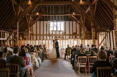 Helene & Mark's Clock Barn Wedding. Photo by Samantha Davis Photography.