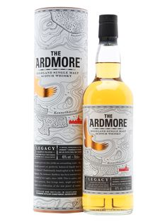 Ardmore Legacy was introduced in 2014 as a replacement for Traditional. A mix of 80% peated and 20% unpeated malt, this is full-bodied, dry and spicy.