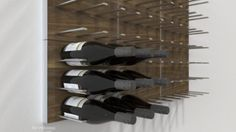 STACT Modular Wall-mounted Wine Rack System - Commercial-grade Design modern wine racks