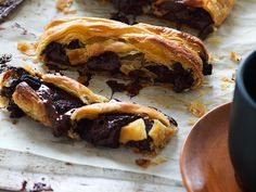 It wouldn't be Easter without some chocolate tucked in there, right? Try this easy pain au chocolat recipe and be rewarded with hot pastry and delicious melted chocolate