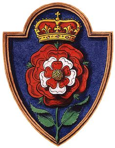 "The Heraldic badge of Katherine Howard, whose motto was, ""No Other Will But His."""