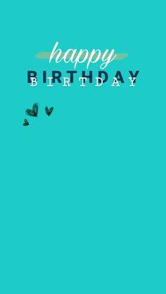 Happy Birthday Template, Happy Birthday Frame, Happy Birthday Quotes For Friends, Happy Birthday Posters, Happy Birthday Wallpaper, Birthday Posts, Creative Instagram Photo Ideas, Photo Instagram, Instagram Quotes