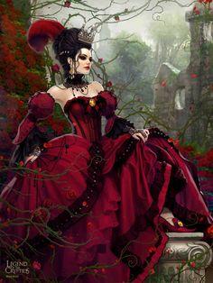 Artist: Unknown name aka maomao22 - Title: Unknown - Card: Spiteful Madame Thénardier