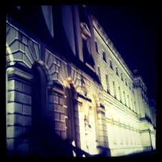 Somerset House by night #London