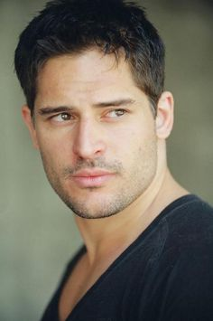 Joe Manganiello with short hair -- hawt!    I think he looks SOOOOO much better with the short hair, but I know wolves need long, shaggy hair haha