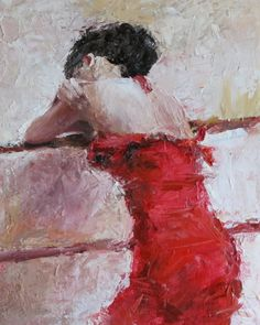 video of a palette knife painting, Palette knife painting, figurative artists