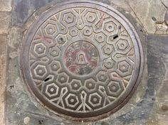 BELL SYSTEM - French Quarter, New Orleans - Manhole Cover