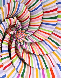 The amazing paper sculpture of Jen Stark