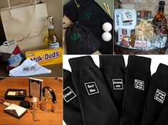 Inspiration Board: Groomsmen Gifts