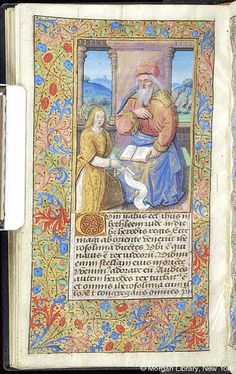 Book of Hours, MS M.7 fol. 77v - Images from Medieval and Renaissance Manuscripts - The Morgan Library & Museum