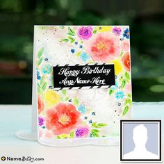 Create Beautiful Bday Greeting Cards With Name