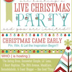Live Christmas Party