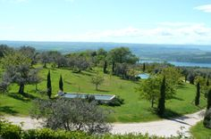countryhome with view to Orvieto and Corbara lake