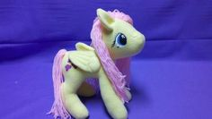Friendship is Magic Fluttershy Plushie (three images