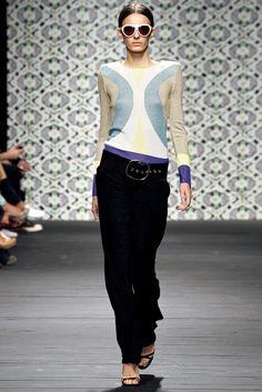 Iceberg Spring 2013 Ready-to-Wear Fashion Show - Erjona Ala