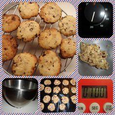 cookies chocolat blanc/cranberries