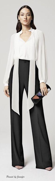 Escada Resort 2016 women fashion outfit clothing style apparel @roressclothes closet ideas
