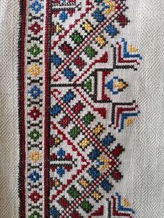 Crochet Mandala Pattern, Crochet Motifs, Easy Crochet Patterns, Crochet Designs, Free Crochet, Cross Stitch Borders, Cross Stitch Rose, Cross Stitching, Embroidery Works