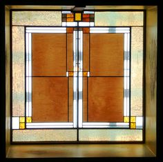 Skylight. Unity Temple. Oak Park, Illinois. 1905-8. Frank Lloyd Wright.
