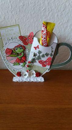 Diy Cards, Tea Cups, Mugs, Coffee, Vintage, Cha Cha, Cards, Gifts, Tumbler