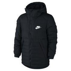 Nike Sportswear Men s Down Jacket Size Medium (Black) 60585b25d3f