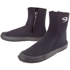 Cressi Dive Boots with Zippers These boots are so comfy and have extra cushioning in the sole. Love them.
