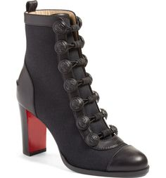 Main Image - Christian Louboutin Who Dances Button Bootie