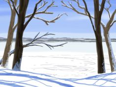 winter – Donar's Sketchbook Time Of The Year, Magick, Ontario, Serenity, Art Ideas, Landscapes, Canada, Urban, York