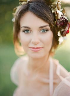 Amazing Wedding Makeup Tips – Makeup Design Ideas Romantic Wedding Makeup, Wedding Makeup Tips, Romantic Wedding Inspiration, Natural Wedding Makeup, Bridal Hair And Makeup, Wedding Hair And Makeup, Bridal Beauty, Wedding Beauty, Hair Makeup
