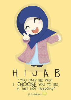 In a world where our bodies are constantly on display, judged and commented on. I always considered a women's choice to cover herself as very POWERFUL! I am free to control what I show of myself. Hijab