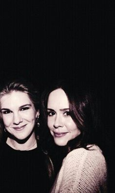 Lily Rabe and Sarah Paulson. Like ... how are these two so incredible? My heart. They are fabulous.