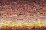 This is my quilt--autumn dawn. I love the subtle gradually changing colors of the season and the sun pale but yellow in the sky. The quilt is 46 x 62 inches. Copyright Ann Brauer. Of course I welcome custom orders.