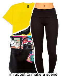 """C O N F U S E D "" by purplequeen04 ❤ liked on Polyvore featuring NIKE"