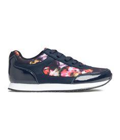 H&M - Flower sneakers