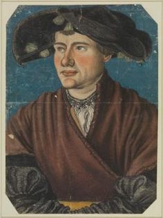 Monogrammist CH, Portrait of a young man, 1530ish