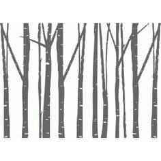 Silhouette Design Store - Search Designs : birch trees with deer Silhouette Design, Silhouette Clip Art, Silhouette Images, Silhouette Painting, Silhouette Projects, Birch Bark, Birch Trees, Tree Svg, Wood Burning Patterns